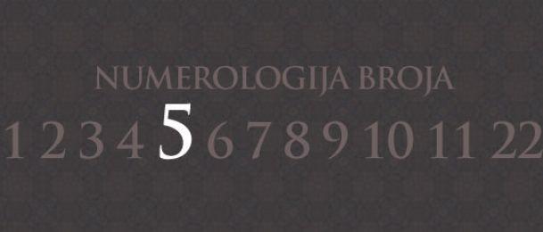 Numerologija za število 5