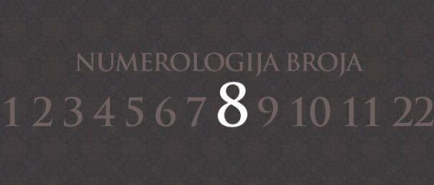 Numerologija za število 8