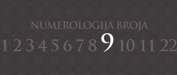Numerologija za število 9