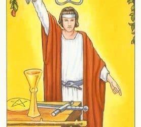 Pomen tarot karte Čarovnik (Mag)