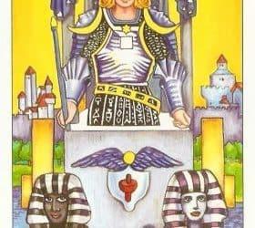 Pomen tarot karte Kočija