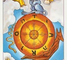 Pomen tarot karte Kolo sreče