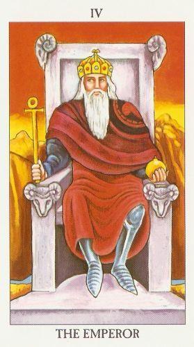 Pomen tarot karte Kralj