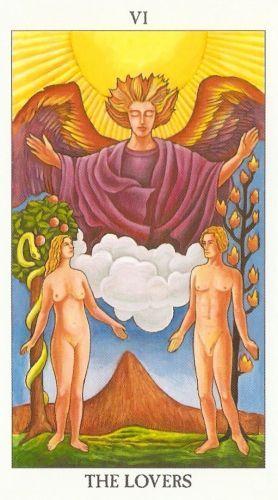 Pomen tarot karte Ljubimca