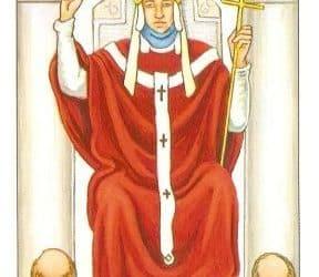 Pomen tarot karte Papež (Svečenik)