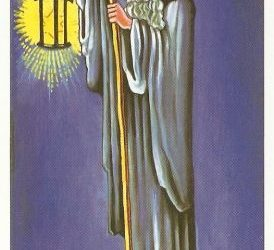 Pomen tarot karte Puščavnik