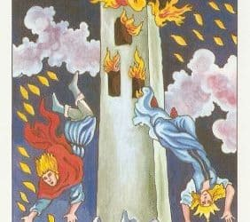 Pomen tarot karte Stolp