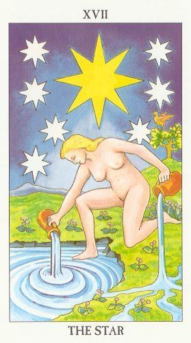 Pomen tarot karte Zvezda